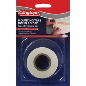 DOUBLE SIDED MOUNTING TAPE 24MM X 2M