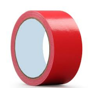 CLOTH TAPE RED 48MM X 25M