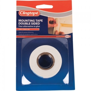 DOUBLE SIDED MOUNTING TAPE 12MM X 2M
