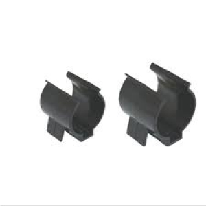 ADJUSTABLE TUBE CLIPS SUIT 40-50MM TUBE - PAIR