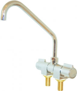 MIXER FAUCET FOLDING TAP LONG REACH SPOUT