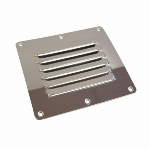 LOUVERED VENT STAINLESS STEEL 127 X 115MM