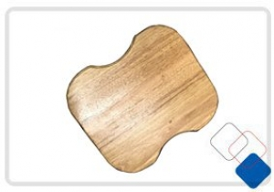SQUARE CHOPPING BOARD 330 X 380MM TO SUIT SINK 7848R