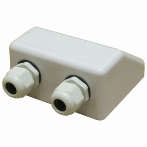 CABLE ENTRY BOX  2X CABLE GLANDS