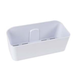 NALEON SELF ADHESIVE BASKET - WHITE