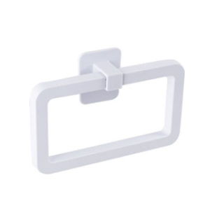 NALEON SELF ADHESIVE TOWEL RING - WHITE