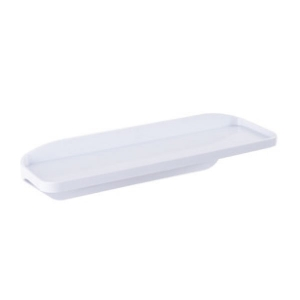 NALEON SELF ADHESIVE SHELF - WHITE