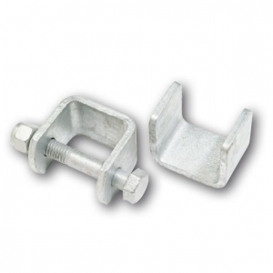 GAL FRONT & REAR HANGERS WITH 1/2 X 3 1/2 BOLT