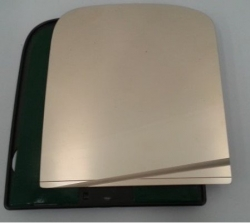 CLEARVIEW FLAT MIRROR KIT INCLUDES GLASS & PLASTIC BACKING PLATE- RHS