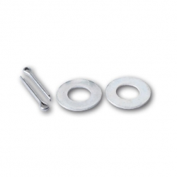 ARK BOAT ROLLER WASHER & SPLIT PIN SUIT 16MM TO 18MM SPINDLE
