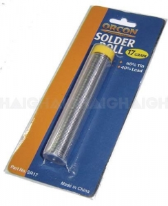 ORCON SOLDER ROLL 17G