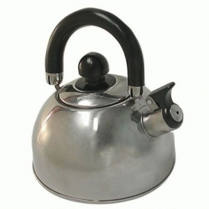 CAMPFIRE WHISTLING KETTLE 2.5L - STAINLESS STEEL