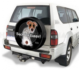 HAIGH TWISTED WHISKERS BACK OFF BUDDY 4WD SPARE WHEEL COVER 29""