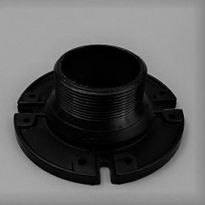 THETFORD FLOOR FLANGE  75MM MALE FOR AQUA/BRAVURA/ ELECTRA MAGIC TOILETS