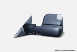 MSA TOWING MIRRORS FORD RANGER BLACK HEATED ELEC IND 2012-CURRENT