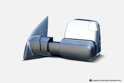 MSA TOWING MIRRORS FORD RANGER CHROME ELEC HEATED IND 2012-CURRENT
