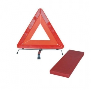 MOTORCHAMP COLLAPSIBLE WARNING TRIANGLE- WITH REFLECTOR STRIPS