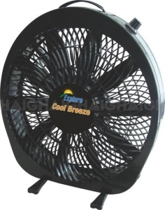 EXPLORE BY HAIGH 12V COOLBREEZE FAN 12IN/30CM 3 SPEED CONTROL
