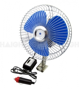 DRIVE BY HAIGH OSCILLATING CAR FAN ROUND 6INCH SINGLE SPEED